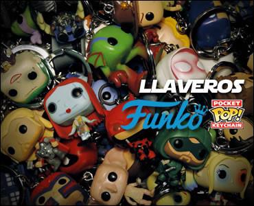 Llaveros Funko Pop!